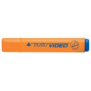 EVID. TRATTO VIDEO ARANCIO 10pz