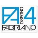 BLOCCO FABRIANO 4 24X33 20FG LISCIO CF.10
