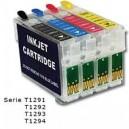 CART COMP EPSON SX420 SX425 SX525 SX620 BX305 BX320 NERO T1291